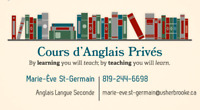 Cours d'anglais privés
