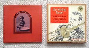 Two Vintage Vinyl Record Albums