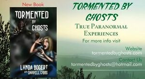 NEW BOOK - TORMENTED BY GHOSTS Peterborough Peterborough Area image 3