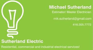 Electrician / electrical / demolition / networking London Ontario image 1