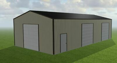 27x50x12 Steel Building Simpson Metal Building Kit Garage Workshop Barn