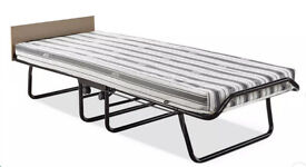 New Jay-Be Supreme Automatic Folding Bed e-Fibre Mattress-Single RRP £119