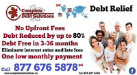 Debt Elimination with NO Upfront Fees