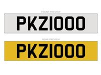 PKZ1000 NUMBER PLATE FOR SALE