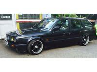 1994 BMW E30 325i M20B25 TOURING GREY MANUAL DRIFT MODIFIED - SWAP / PX ~