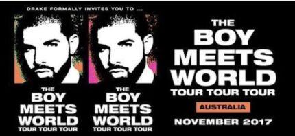 Drake concert Sydney