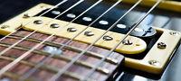 Ajustement & réparation de guitare électrique Rive-Sud