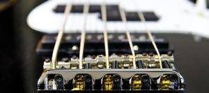 Ajustement, entretien & réparation de basse électrique