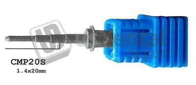 Cerec Mcxl Compatble Cylinder Pointed Step Bur 20 - 1pk - For Mcxl 62 116130