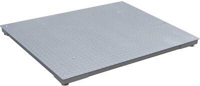 4 X 4 Foot 5000 X 1 Lb Ntep Digital Scale Pallet High Quality Platform Steel New