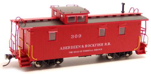 Aberdeen & Rockfish #309 Wood Caboose RTR