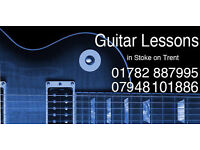 Guitar Lessons for Beginners in Stoke on Trent
