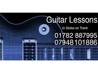 Guitar Lessons for Beginners in Stoke
