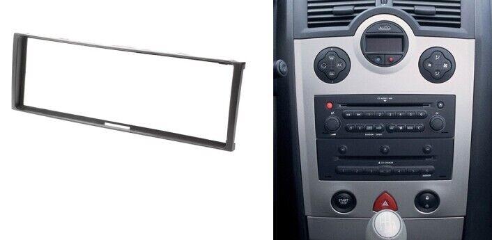 Radio Fascia For Renault Clio Modus Megane Scenic 1 Din