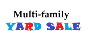 Multi-family Yard Sale Millwood Sunday May 27th 8-12pm
