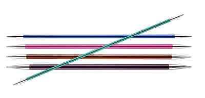KnitPro Zing Doppia Punta DI DPN Aghi Di Calzino Dimensioni 2mm 8mm,15cm & 20cm
