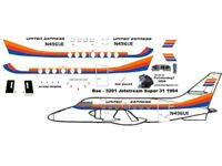 United Express  BAe Jetstream Pointerdog7 decals for 1//72 scale Airfix kit