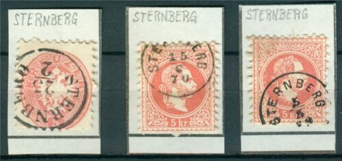 Österreich 1867 Nr. 37 Lot Sternberg
