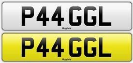 P44 GGL - PAGAL - Private Number Plate, Indian, Asian, Funny, Rude, Punjabi