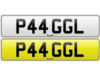 P44 GGL - PAGAL - Private Number Plate, Indian, Asian, Funny, Rude, Punjabi