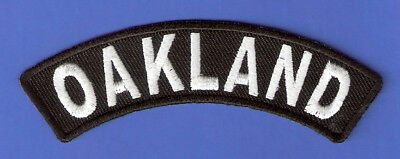 Iron Rocker - BRAND NEW OAKLAND ROCKER BIKER IRON ON PATCH