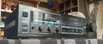 VINTAGE KENEOOD INTEGRATED STEREO AMPLIFIER/MADE IN JAPAN