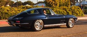 1964 1965 Corvette Factory Chrome Air Cleaner & NOS Brake Drums