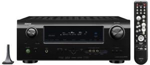 Denon AVR790 7.1-Home Theater Receiver   2 TEAC speakers $200