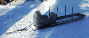 Home made bobsled/sleigh