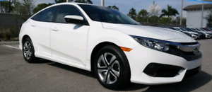 Honda civic **LOW PAYMENT LEASE TAKEOVER**