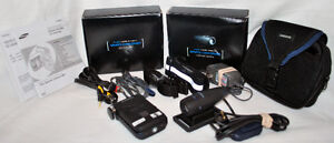 Samsung MPEG4 Sports Camcorder with accessories