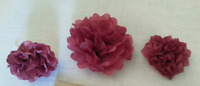 BEAUTIFUL HANDMADE TISSUE FLOWERS- PERFECT FOR YOUR WEDDING DAY