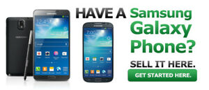 We buy Samsung Cell Phones New and Used Call 647-721-7863