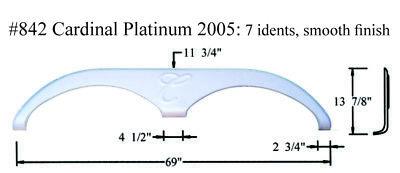 Forest River Cardinal Platinum RV  Fender Skirt  FIBERGLASS  #842  White