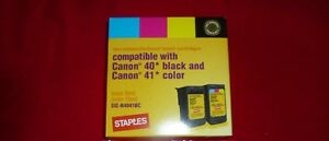 Printer ink - Canon, 2 black cartridges, PG-40, Canon