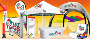 Custom Tents-Banners-Flags-Table Covers-Pop Up Canopy Tent