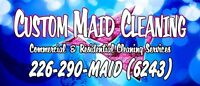 Custom Maid Cleaning Service - Insured Home & Office Cleaning