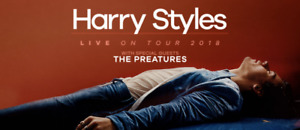 Harry Styles Tickets Vancouver - AMAZING SEATS!!!!