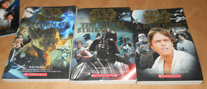 Star Wars Scholastic Books - Novelizations & Trilogy Scrapbook