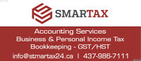 PERSONAL TAX, BOOKKEEPING & ACCOUNTING  SERVICES