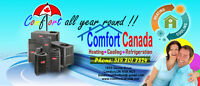 CENTRAL AIR SERVICE CALL ONLY $75,NEW UNIT $1500 INCLUDS INSTALL