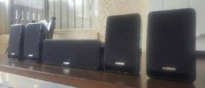 YAMAHA 5XMUSIC SURROUND SOUND SOUND SPEAKERS Dandenong North Greater Dandenong Preview