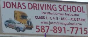 driver instructor.