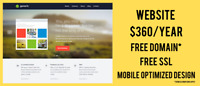 $360/year for your Website and Domain - Peel