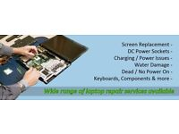 Laptop Repair Service. Screen/keyboard replacement. Memory upgrades. Comptia A+ Technician.