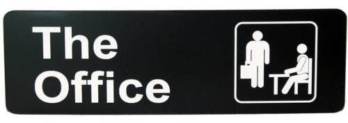The Office Sign - TV Show Michael Scott Dundie Dunder Mifflin swag Fast Shipping