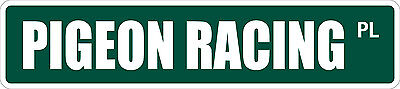 *Aluminum* Pigeon Racing 4