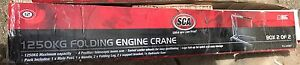 Brand new engine crane Dickson North Canberra Preview
