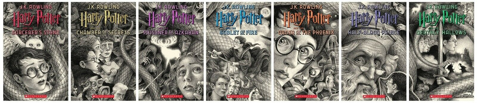 New  HARRY POTTER Books 1-7 Special Edition Boxed Set Paperback by J.K. Rowling