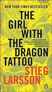 Girl With the Dragon Tattoo by Stieg Larson Paperback